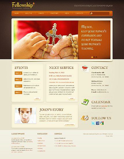 Website Template #38217