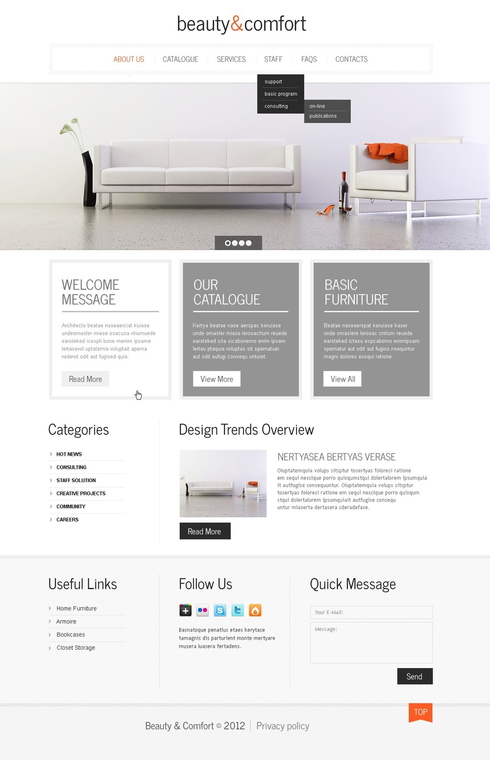 Decor Themes Wordpress Home Decor Wordpress Theme