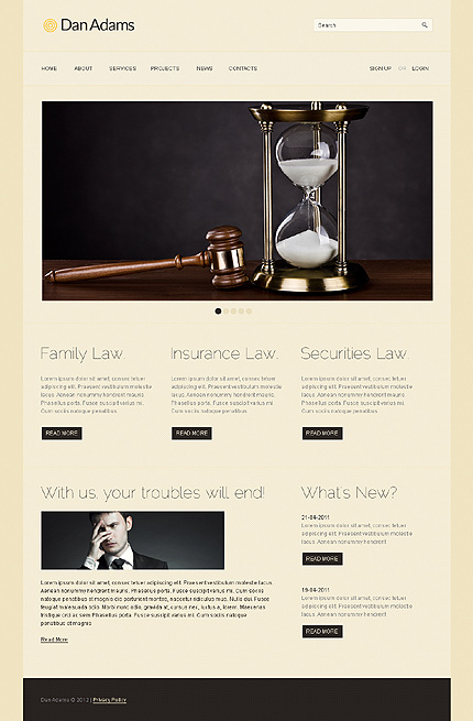 Website Template #38220