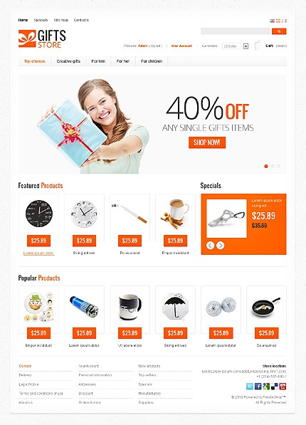 Website Template #38256