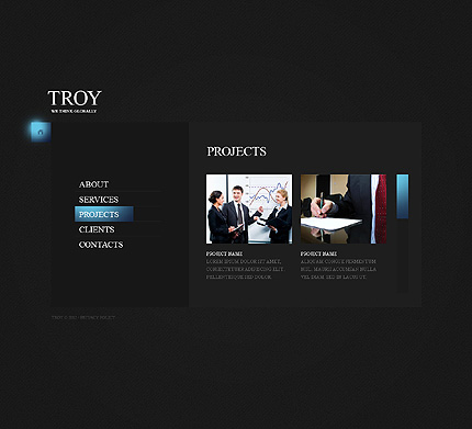 Website Template #38276