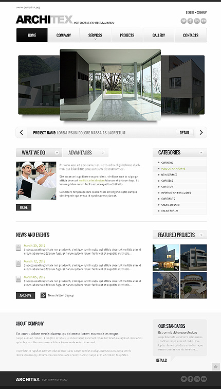 Website Template #38283
