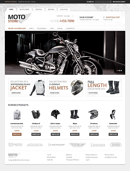 Website Template #38313
