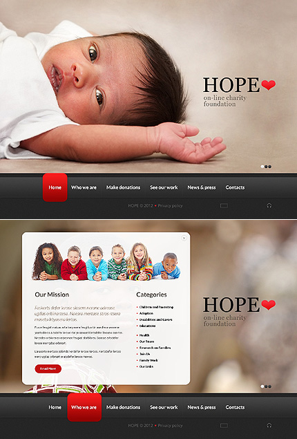 Website Template #38320