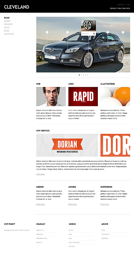 Website Template #38339