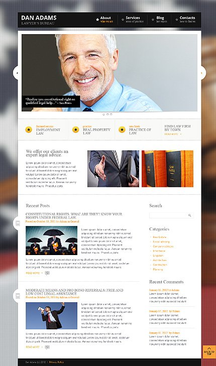 Website Template #38368