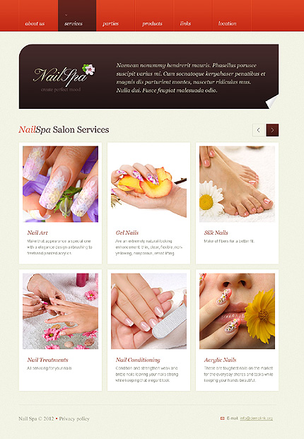 Website Template #38371