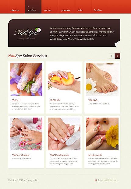 Flash salon websites joy studio design gallery best design for Admiral nail salon