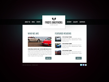 Website Template #38397