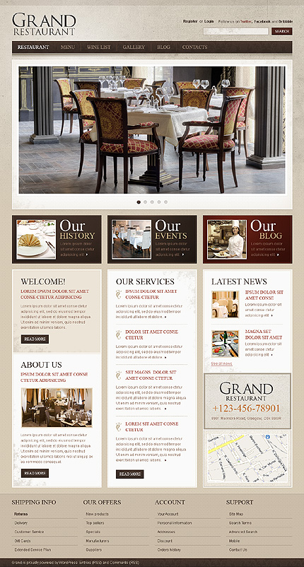Website Template #38424