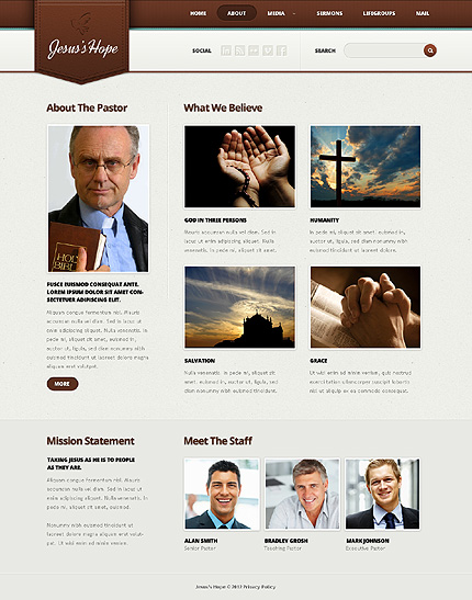 Website Template #38433