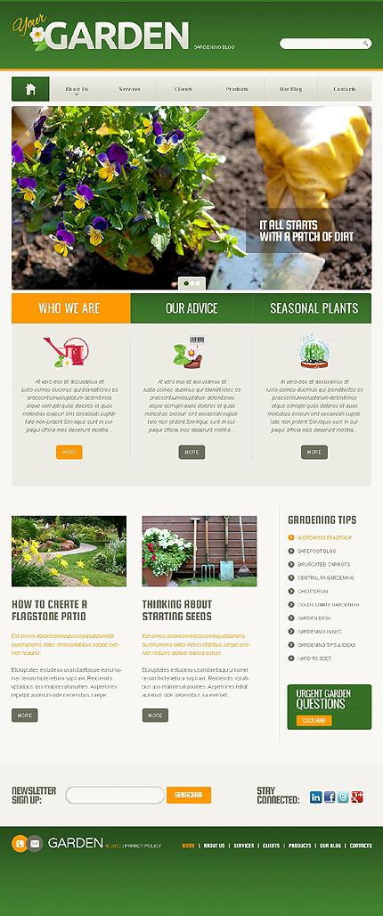 Your Garden WordPress Theme