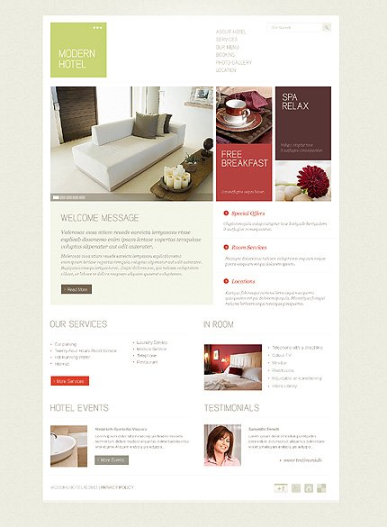 Website Template #38468