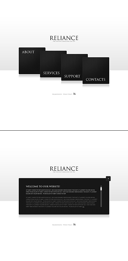 Website Template #38471
