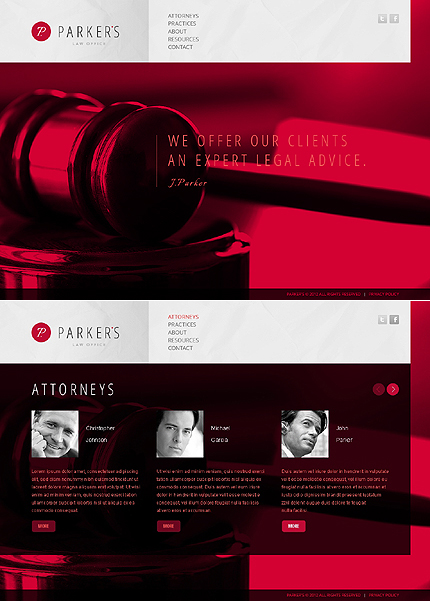 Website Template #38482