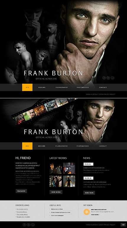 Website Template #38507
