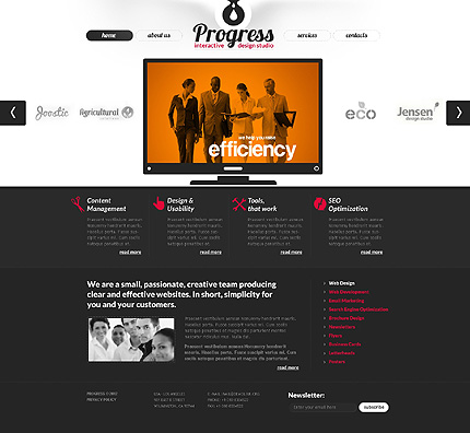 Website Template #38510