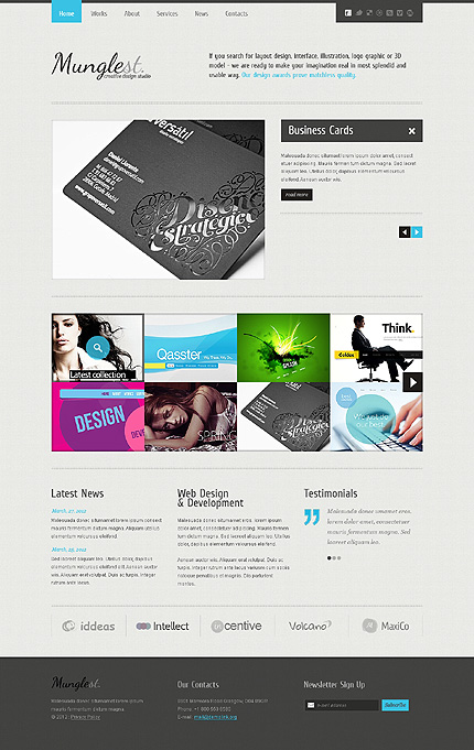 Website Template #38512