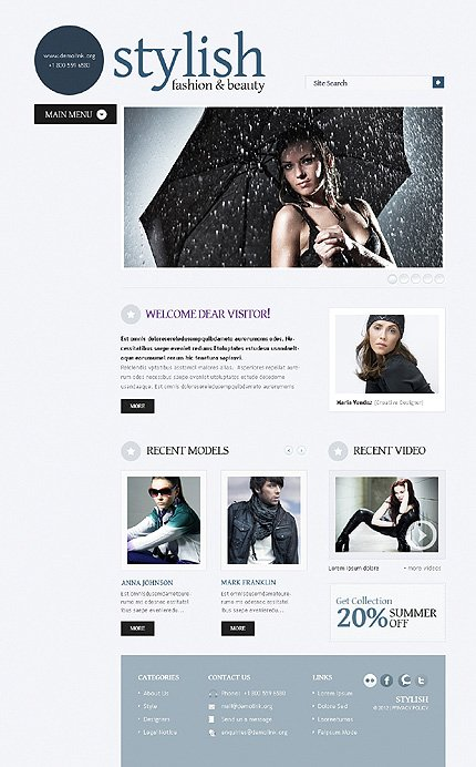 Website Template #38523