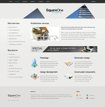 Website Template #38528