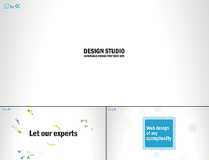 Design Studio Flash Intro Template FLASH INTRO SCREENSHOT