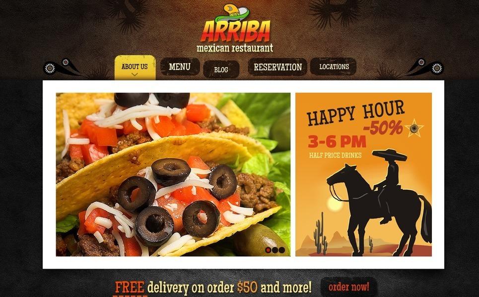 Mexican Restaurant WordPress Theme New Screenshots BIG