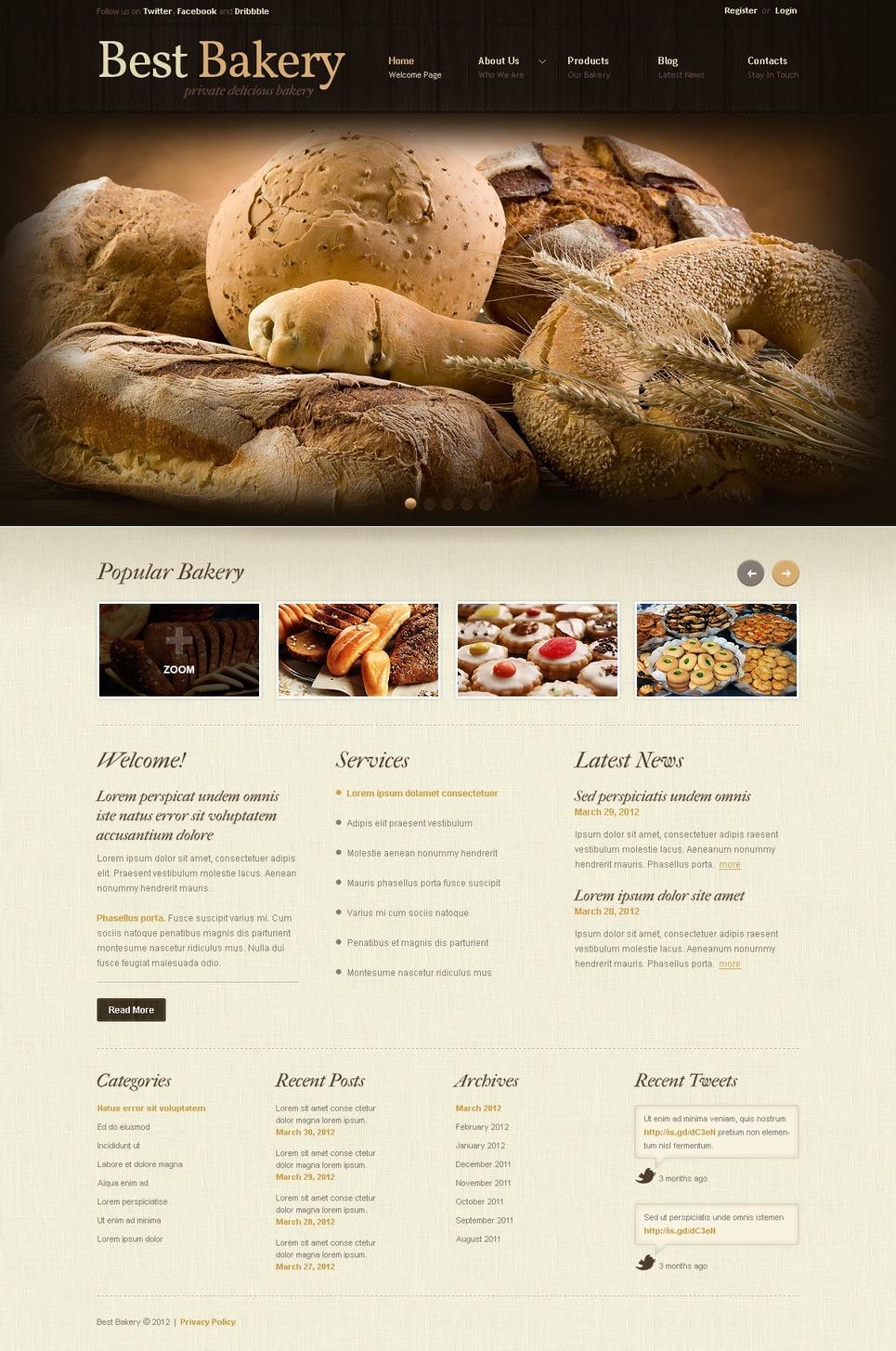 Ultimate Bakery Joomla Template