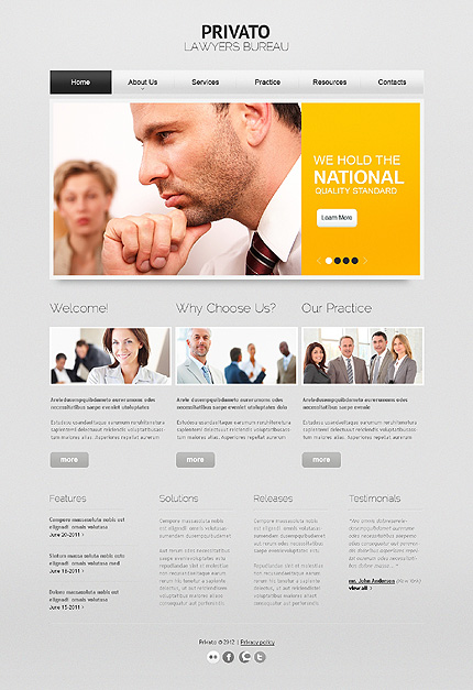 Website Template #38565