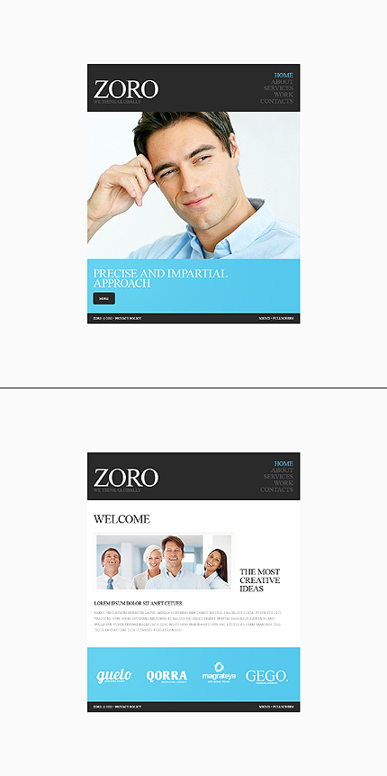 Website Template #38573