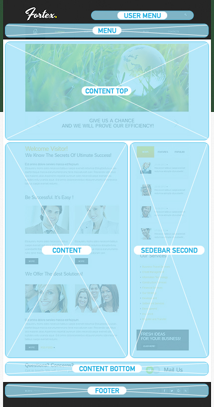 Website Template #38579