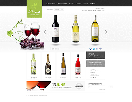 Marvelous materialistic magento wine shop themes platina dionis extraordinary magento wine shop theme pronofoot35fo Gallery