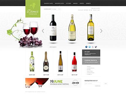 Dionis - ExtraOrdinary Magento Wine Shop Theme