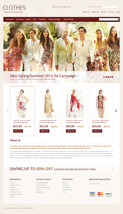 Website Template #38608