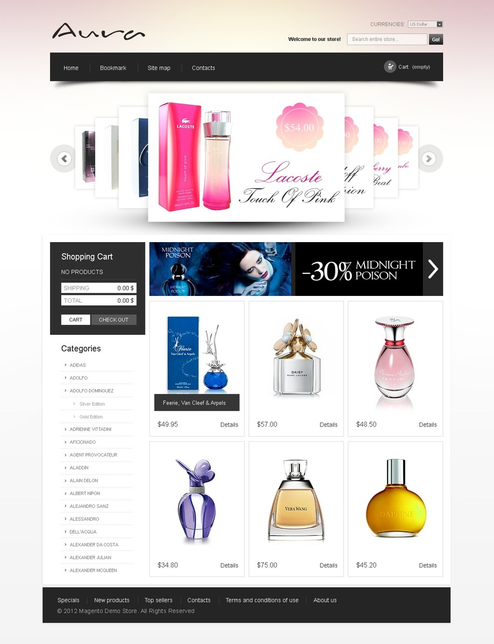 Best Looking Beauty Store Magento Themes