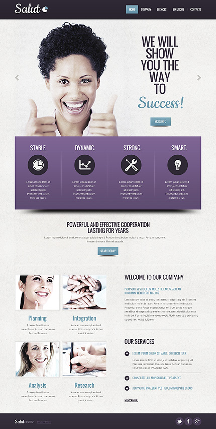 Website Template #38615