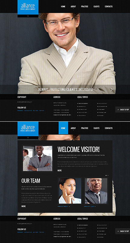 Website Template #38629