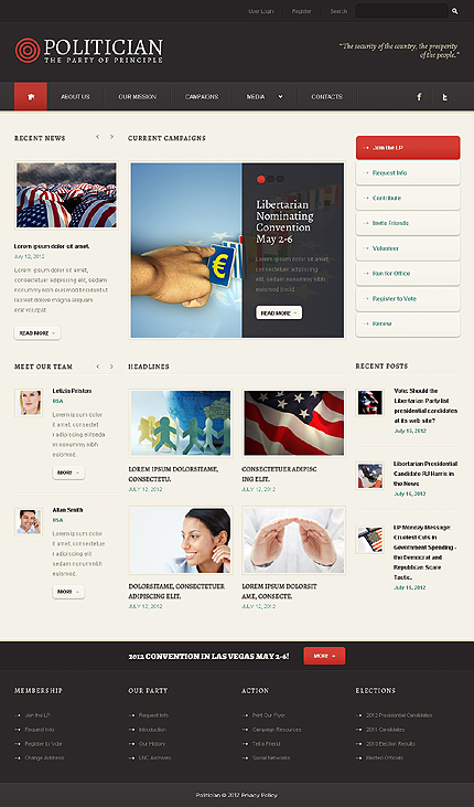 Website Template #38640
