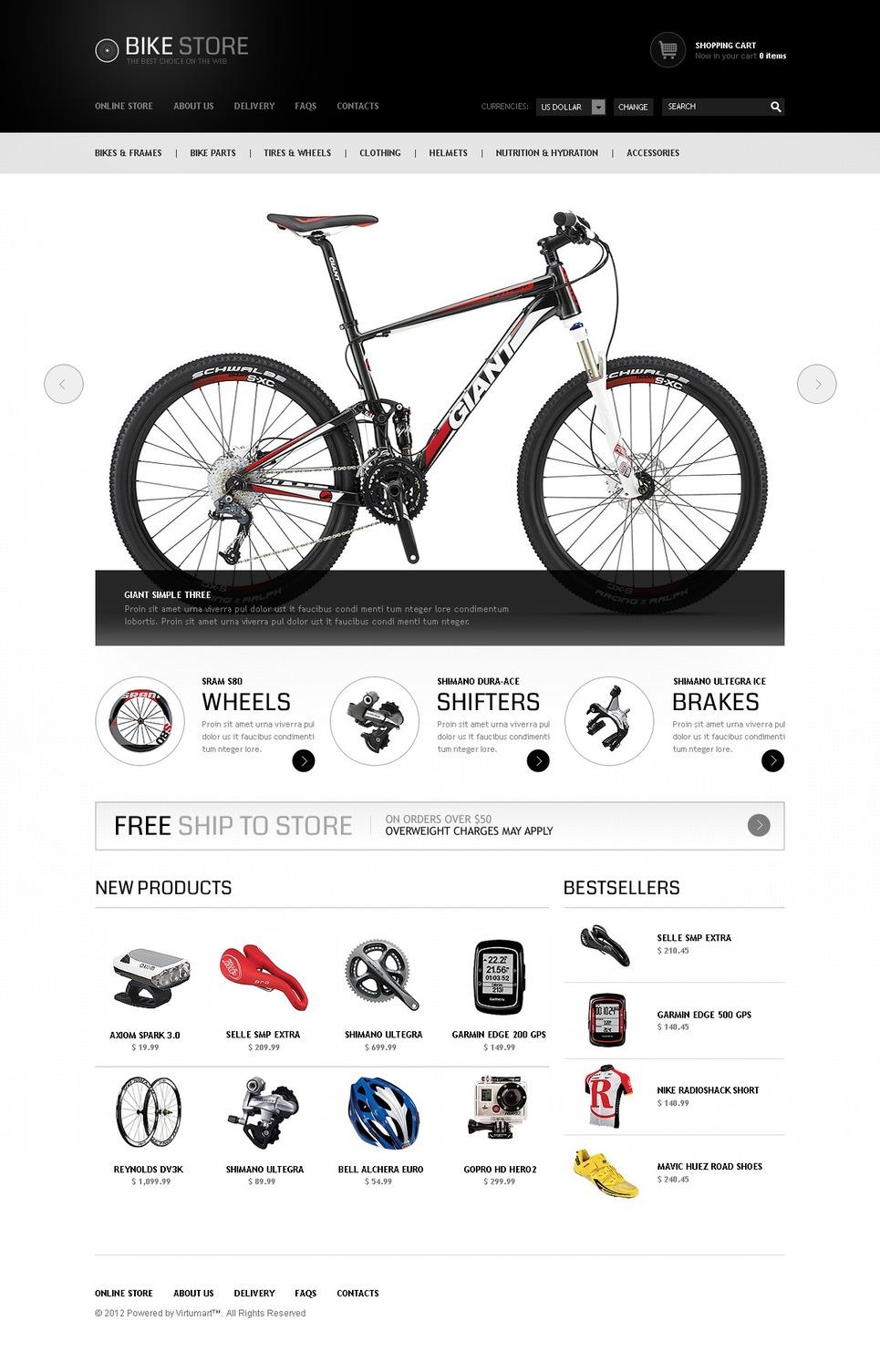 bikes for everyone virtuemart template web design templates website templates download bikes. Black Bedroom Furniture Sets. Home Design Ideas