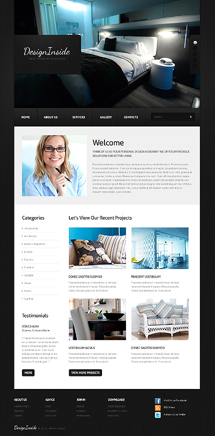Website Template #38660