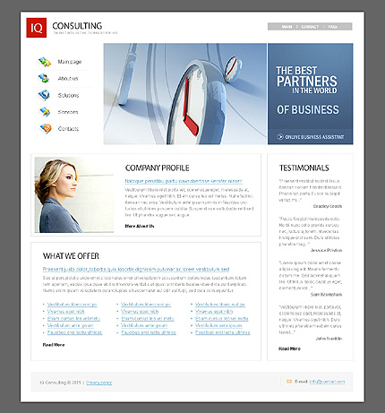 Website Template #38661