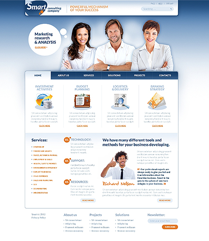 Website Template #38666