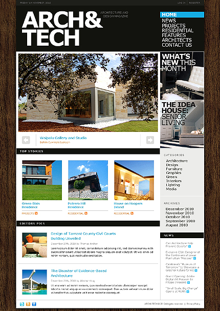 Website Template #38668