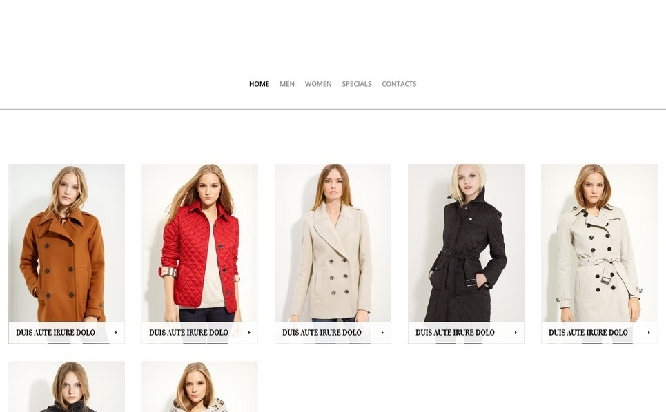 Clothes for Stylish People PrestaShop Theme New Screenshots BIG