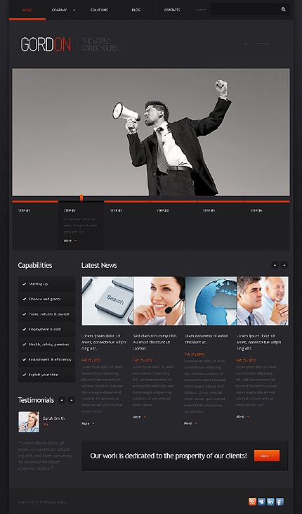 Website Template #38697