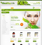 Stretched Flash Ecommerce CMS Theme #38699