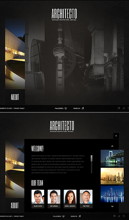 Website Template #38711