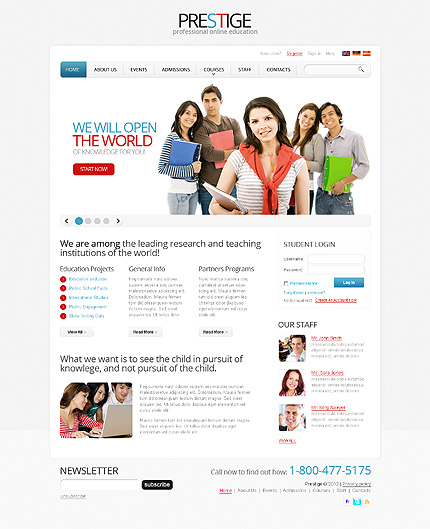 Website Template #38721