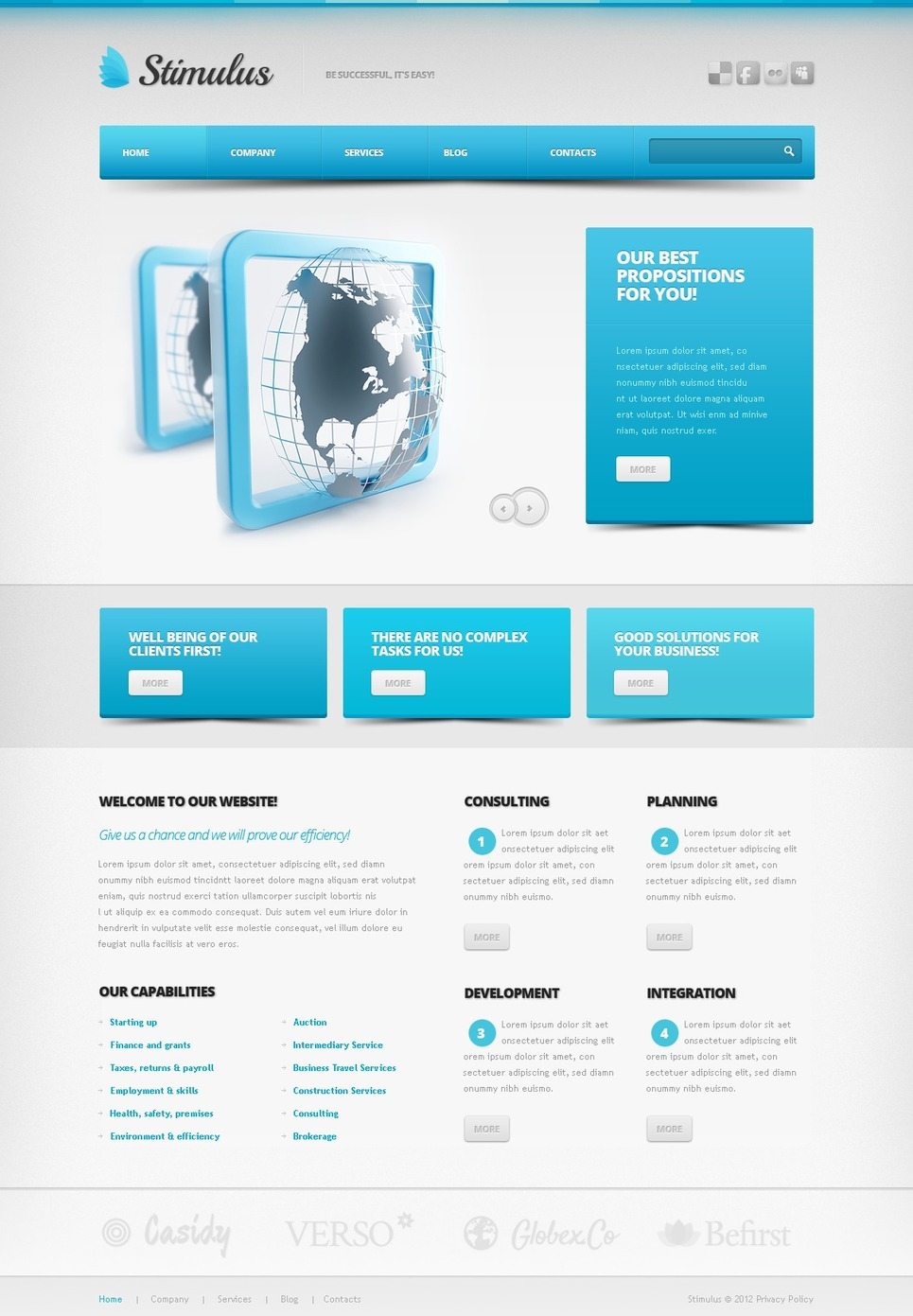 IT Drupal Template New Screenshots BIG