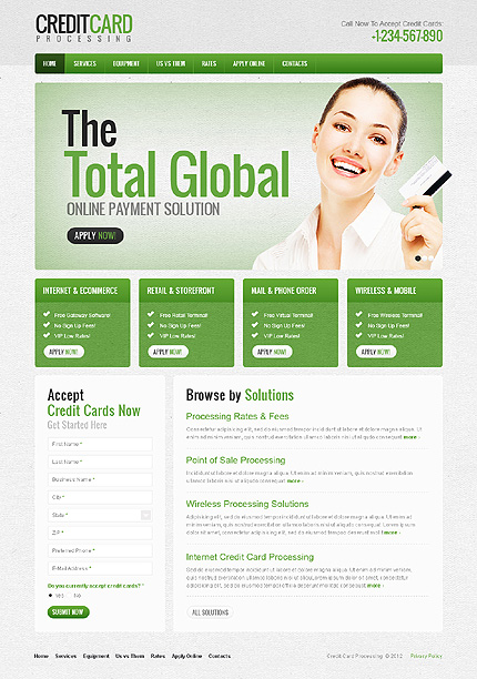 Website Template #38764