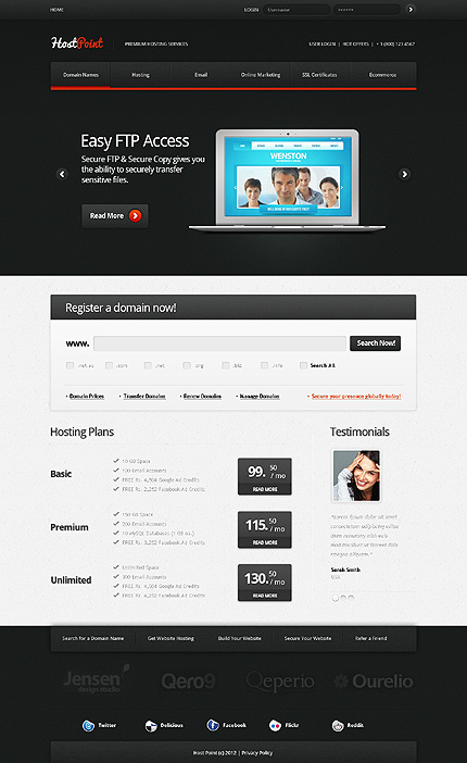 Website Template #38794